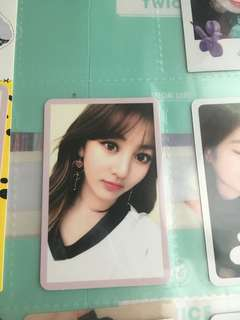 Twice jihyo 小卡