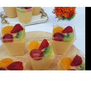 PUDING CUP BUAH