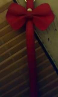 🚚 紅色蝴蝶結吊飾