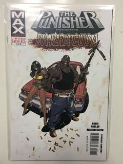 The Punisher Max Series Presents Barracuda #1 by Marvel Comics