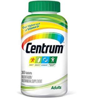365 tablets - Centrum Multivitamin / Multimineral Supplement