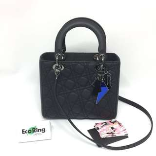 [Limited Edition] Dior Lady Anselm Reyle For Dior 2 Way Bag Black 黑色 100%真品