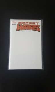 Marvel Secret Wars #1 Blank Variant