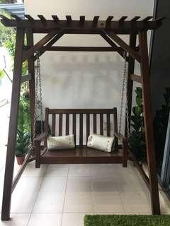 Outdoor Garden swing bench