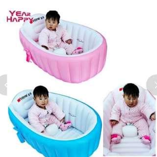 GV Intime  Portable Foldable Inflatable Baby Bath Tub
