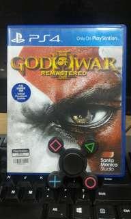 [PS 4] God of War III - Remastered