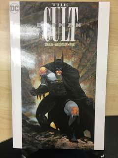 Batman The Cult TPB Trade Paperback collecting #1 to #4 (7th Printing) by DC Comics - Read Once Only