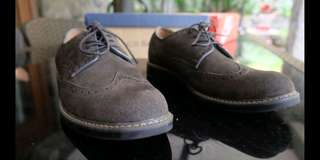 GH Bass & Co Formal Suede Shoes