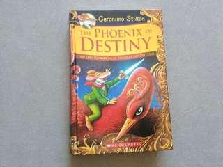 Geronimo Stilton: The Phoenix of Destiny (hardcover book)