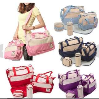 GV 5 in 1 Mommy Essential Diaper Bag