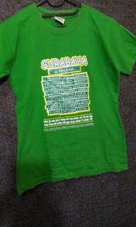 T-shirt Cak Cuk Hijau