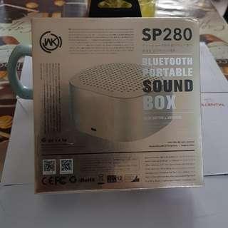 SOUNDBOX BLUETOOTH PORTABLE SOUND BOX.(SP 280)