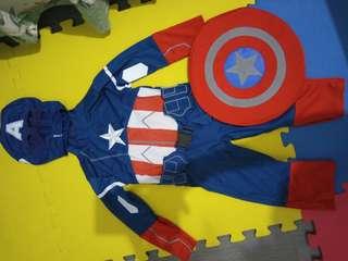 Capt America Costume (Suit)