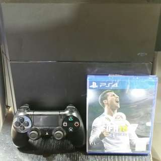 Ps4 With Fifa 18