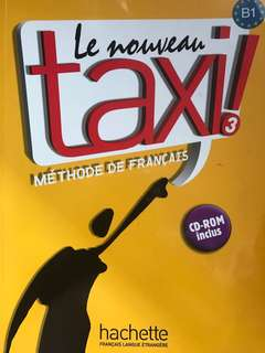 Le Nouveu Taxi 3 (French B1) textbook