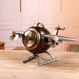 Aeroplane Desk Clock