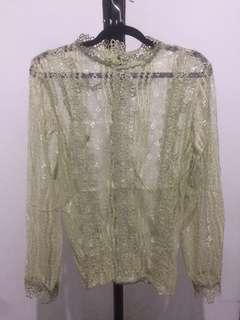 lace blouse authentic