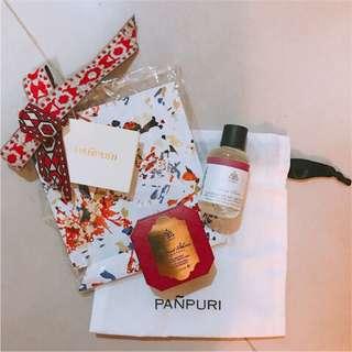 🚚 PANPURI-泰國頂級香氛品牌組合包-手工皂+按摩油