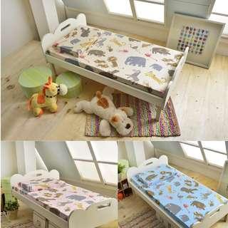 全程台灣製造MIT【100%精梳棉嬰兒床包】嬰兒乳膠床墊適用/嬰幼童寢具/新生兒床包