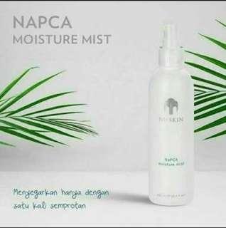 Napca moisture mist nu skin l pelembab kulit kering penyegar wajah pelembab muka kosmetik dry skin pelembab dry skin wanita