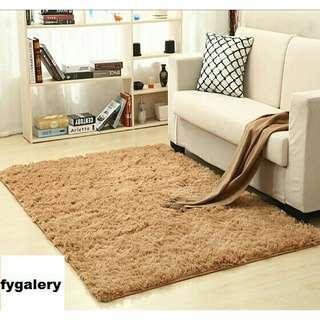 Karpet bulu halus 100cm x 150cm