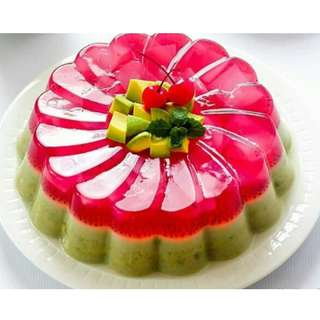 PUDING GREENDTEA COCONUT