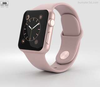 Apple Watch 38mm Series 2 (Pink Sand)