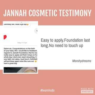 💕Jannah Magnolia Foundation Testimonial💕