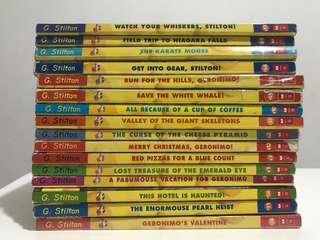 Geronimo Stilton bundle  (16 books)