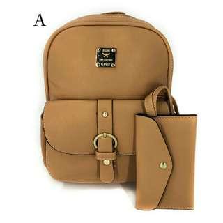 Ladies Korean 2-in-1 Bag and Wallet