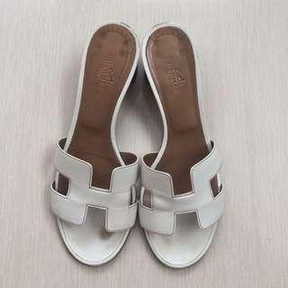 Preloved hermes oasis sandal