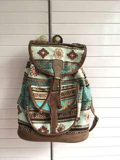 🚚 Backpack made of carpet tapestry (bought in Turkey Istanbul)