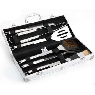 6pcs/set BBQ Tools BBQ烧烤工具6件套 户外烧烤工具套装#540