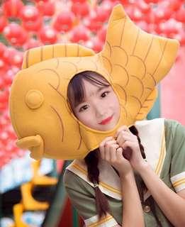 韓國頭套 雕魚燒頭套 party用