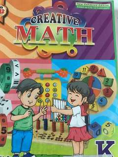 Creative Math for kinder