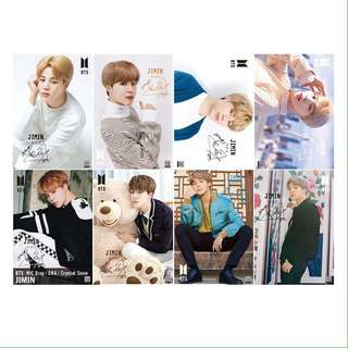 8 Pieces BTS Jimin Wall Posters / Poster