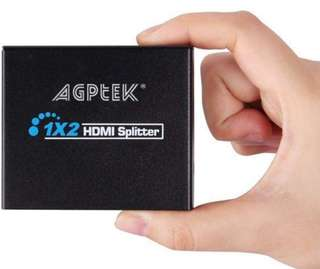 (359) AGPTEK 1x2 HDMI Splitter (AY-16)