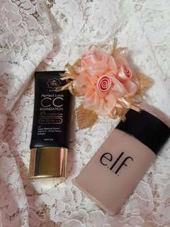 Paket elf & viva queen foundation