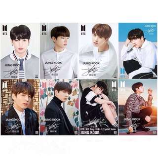 8 Pieces BTS Jeon Jungkook Wall Posters / Poster