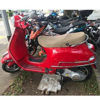 RENTAL VESPA LX 150 AUTO SCOOTER LEASING SHORT LONG TERM AFFORDABLE RATES