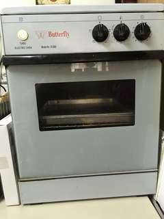 Butterfly turbo electric oven