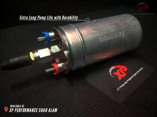 External Fuel Pump OBUDDY 340lph racing fuel