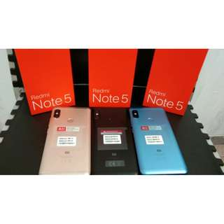 Xiaomi Redmi Note 5 Ram 4GB Rom 64GB Original New
