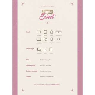 [MY GO] 2018 JIMIN BIRTHDAY PROJCET 'BitterSweet' BY TENSION UP @tensionup_1013