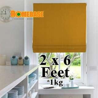 HOMEbase BlackOut Blind (70cm x180cm) *Orange