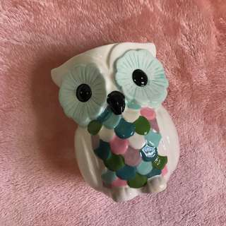 Typo Owl Pen Holder