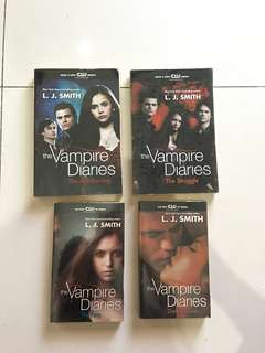The Vampire Diaries 1-4 By L. J. Smith English