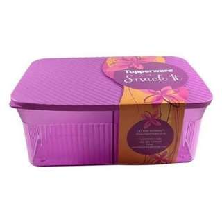 Tupperware Snack It Toples (ungu)