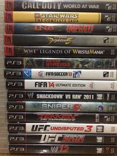 PS3 video games