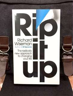 # Highly Recommended《Bran-New + Forget Positive Thinking , It's Time For Positive Actions To Unleash Your Hidden Potential》Richard Wiseman - RIP IT UP : The Radically New Approach To Changing Your Life